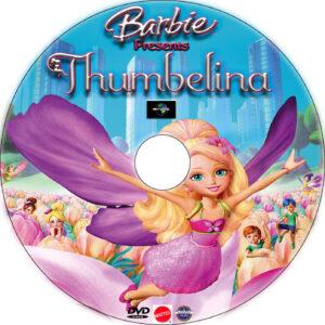Barbie Presents: Thumbelina dvd label