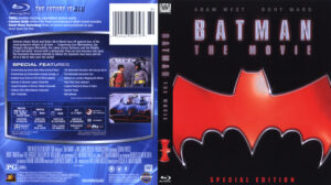 Batman The Movie (Blu-ray) dvd cover