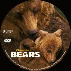 Bears dvd label