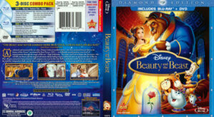 Beauty and the Beast (Blu-ray) dvd cover
