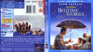 Bedtime Stories (Blu-ray) dvd cover