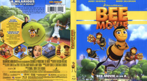 Bee Movie (Blu-ray) dvd cover