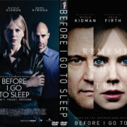 Before I Go to Sleep (2014) Custom DVD Cover
