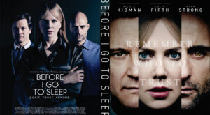Before I Go to Sleep dvd cover