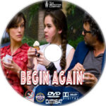Begin Again (2014) R1 Custom DVD Labels