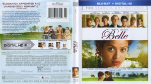 Belle blu-ray dvd cover