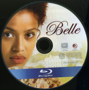 Belle blu-ray dvd label