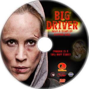 Big Driver dvd label