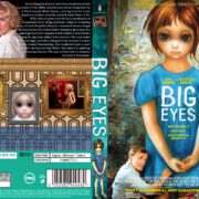 Big Eyes (2014) R0 CUSTOM DVD Cover