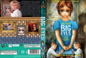 BIG EYES dvd cover
