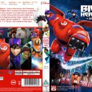 Big Hero 6 (2014) R2 CUSTOM DVD Cover
