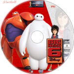 Big Hero 6 (2014) R1 Custom Labels