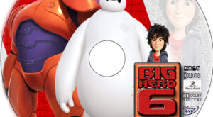 big hero 6 dvd label