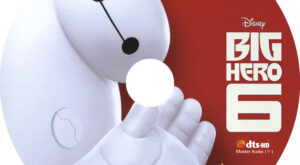 Big Hero 6 (Blu-ray) Label