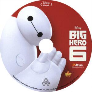 Big Hero 6 (Blu-ray) Label