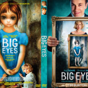 Big Eyes (2014) Custom DVD Cover