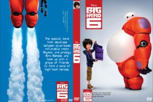 Big Hero 6 dvd cover