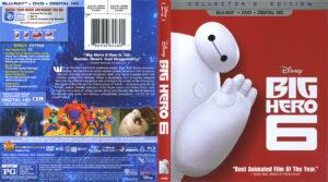 Big Hero 6 blu-ray cover