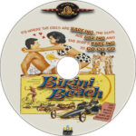 Bikini Beach (1964) R1 Custom DVD Label