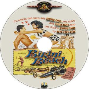 Bikini Beach dvd label