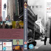 Birdman (2014) R2 CUSTOM DVD Covers