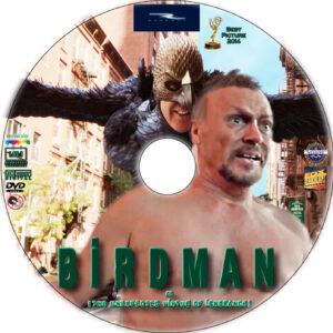 birdman dvd label