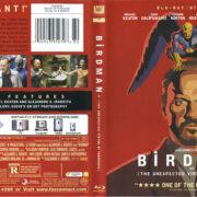 Birdman (2015) Blu-Ray Cover & Label