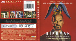 Birdman blu-ray dvd cover