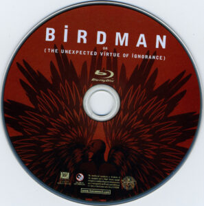 Birdman blu-ray dvd label