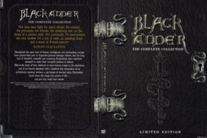 The Black Adder dvd cover