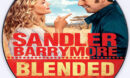 Blended (2014) Custom DVD Label