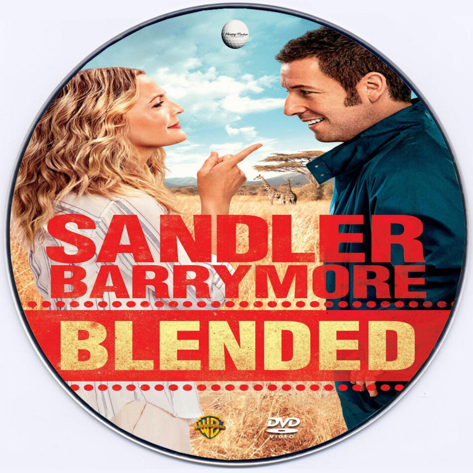 blended dvd label