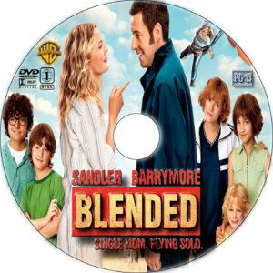 blended dvd label