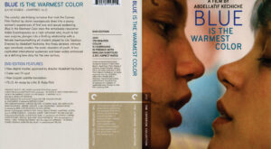 Blue Is the Warmest Color dvd cover