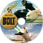 Bolt (2008) R1 Custom DVD Label