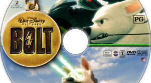 bolt dvd label