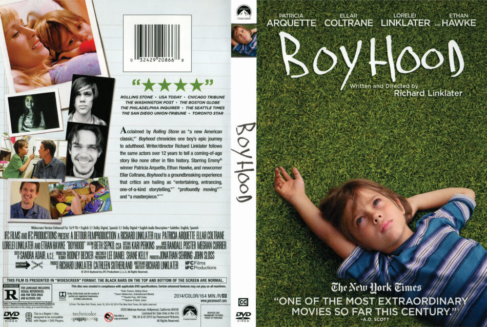 Boyhood dvd cover