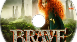brave dvd label