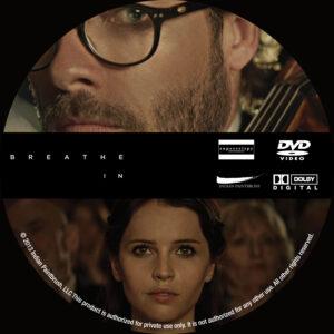 Breathe In Custom DVD Label