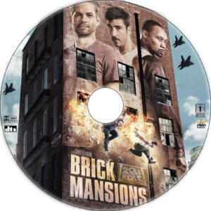 Brick Mansions dvd label