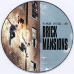Brick Mansions (2014) Custom DVD Label