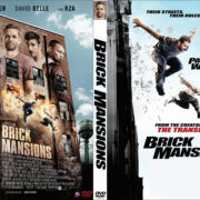 Brick Mansions (2014) Custom DVD Cover