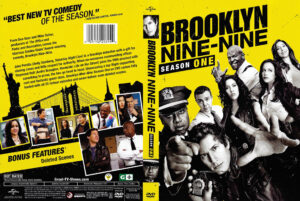 Brooklyn Nine-Nine dvd cover