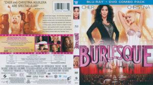 Burlesque blu-ray dvd cover