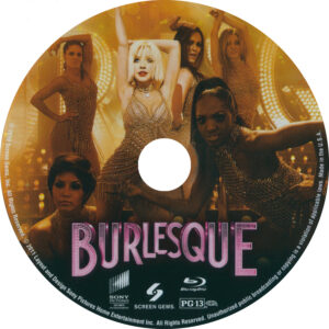 Burlesque (Blu-ray) Label