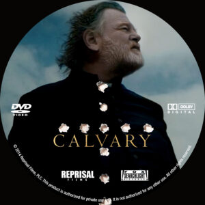 Calvary Custom dvd Label
