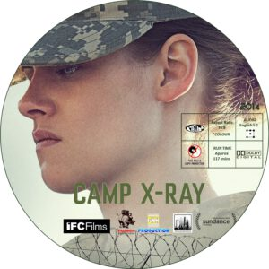 Camp X-Ray dvd label