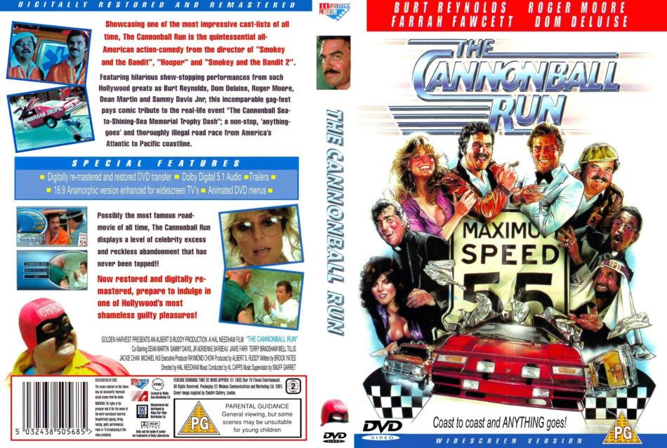 cannonball run,the r2 dvd cover