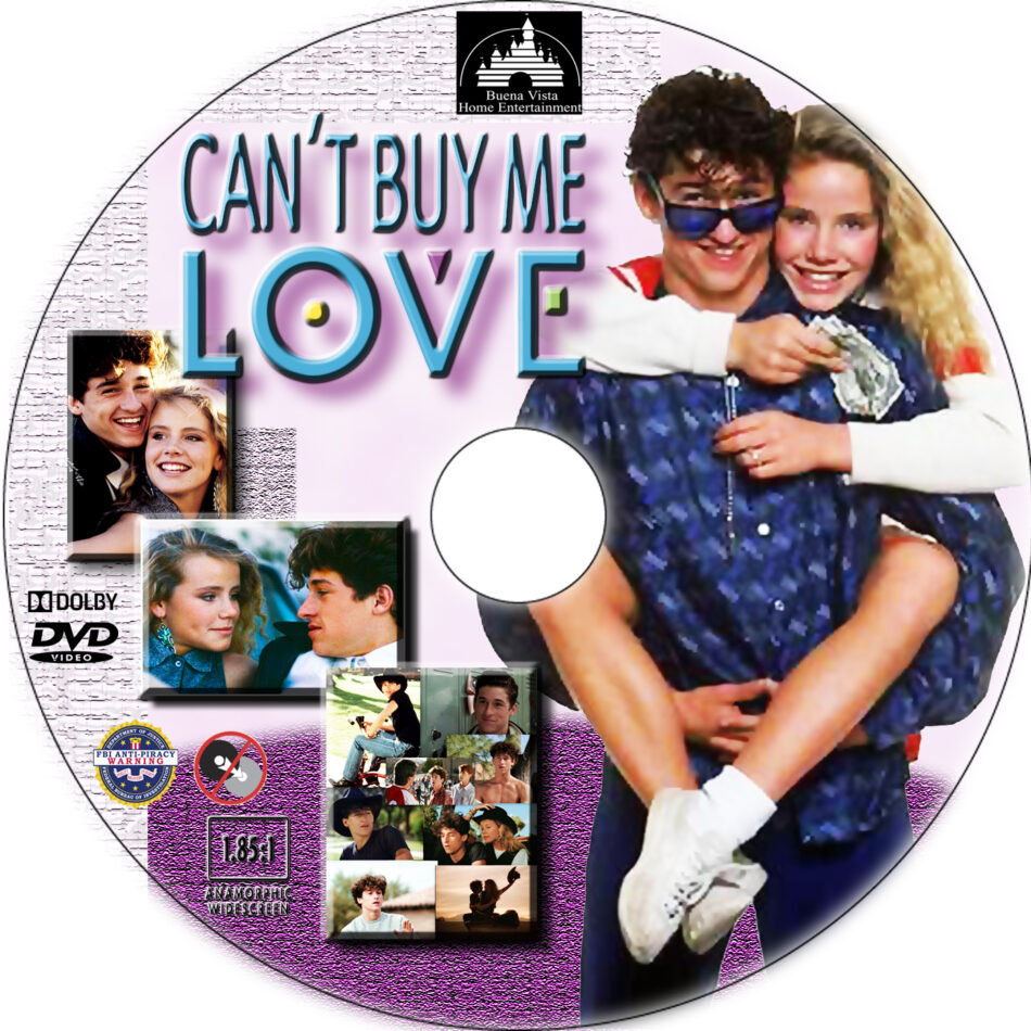 Can't Buy Me Love dvd label