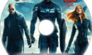 Captain America: The Winter Soldier (2014) R1 Custom DVD Label